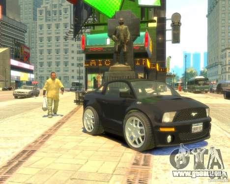 Ford Mustang Mini GT Beta pour GTA 4