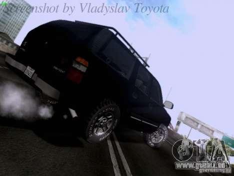 Chevrolet Tahoe 2003 SWAT pour GTA San Andreas vue de droite