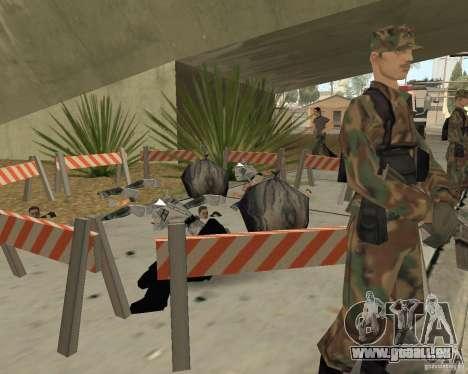 Scène du crime (scène de Crime) pour GTA San Andreas cinquième écran