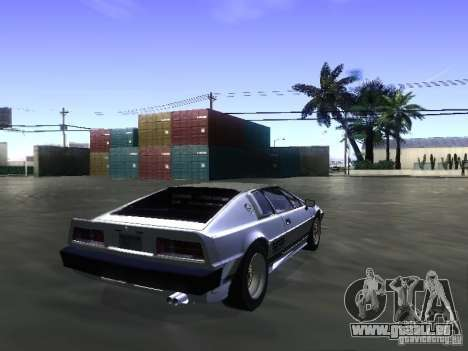 Lotus Esprit Turbo für GTA San Andreas linke Ansicht