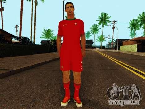Cristiano Ronaldo v4 pour GTA San Andreas
