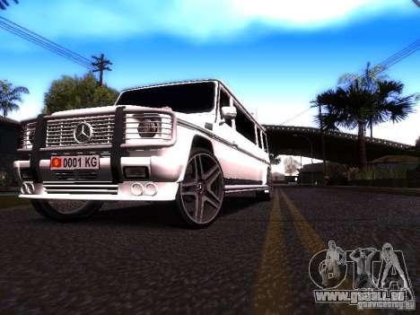 Mercedes-Benz G500 Limousine pour GTA San Andreas