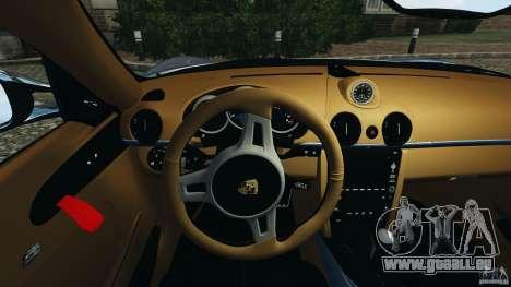 Porsche Cayman R 2012 [RIV] pour GTA 4 roues