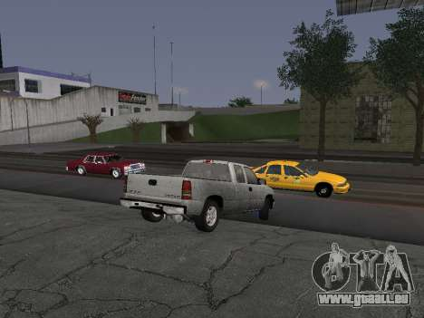 Chevorlet Silverado 2000 für GTA San Andreas Rückansicht