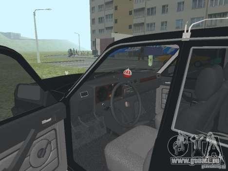 Volga GAZ 31029 pour GTA San Andreas vue arrière