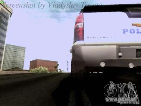 Chevrolet Avalanche 2007 pour GTA San Andreas vue de côté