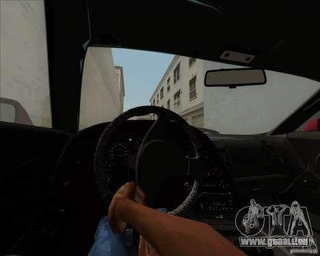 Toyota Supra RZ 98 Twin Turbo für GTA San Andreas obere Ansicht