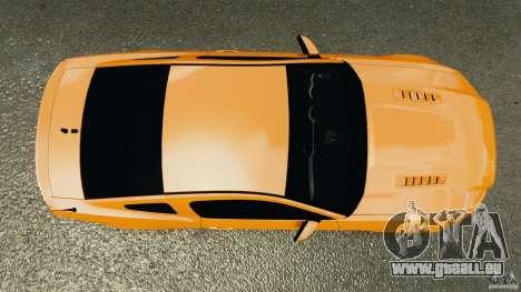 Ford Mustang 2013 Police Edition [ELS] für GTA 4 rechte Ansicht