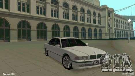 BMW 750i für GTA San Andreas