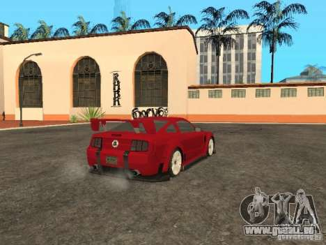 Ford Mustang für GTA San Andreas linke Ansicht