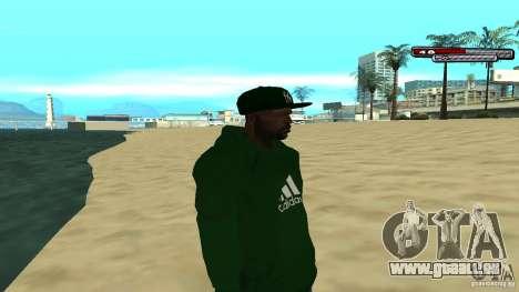 Sweet pour GTA San Andreas troisième écran