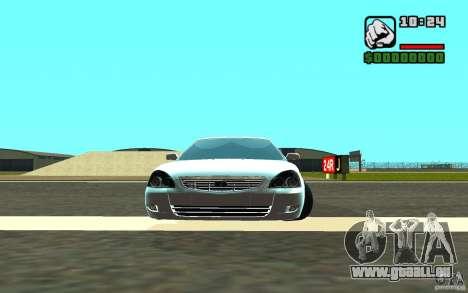 VAZ-2172 für GTA San Andreas Innenansicht