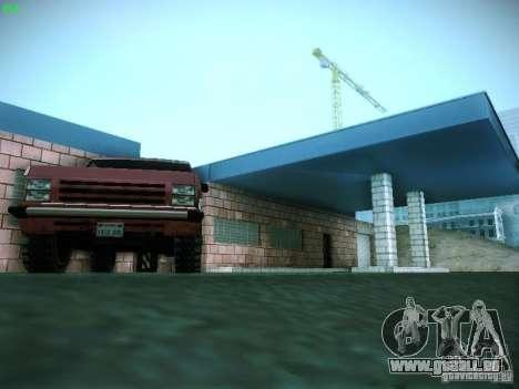 Nouveau garage à San Fierro pour GTA San Andreas huitième écran