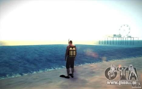 Bouteille de plongée pour GTA San Andreas deuxième écran