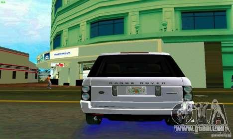 Land Rover Range Rover Supercharged 2008 pour une vue GTA Vice City de la droite