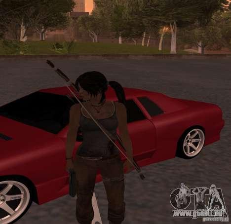 Skin Tomb Raider 2013 pour GTA San Andreas