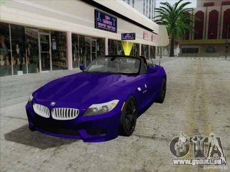 BMW Z4 2011 pour GTA San Andreas