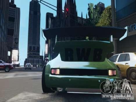 Porsche 911 Turbo RWB Pandora One Beta für GTA 4 rechte Ansicht
