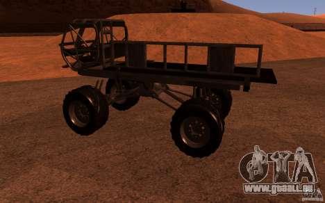 Heist Truck für GTA San Andreas linke Ansicht