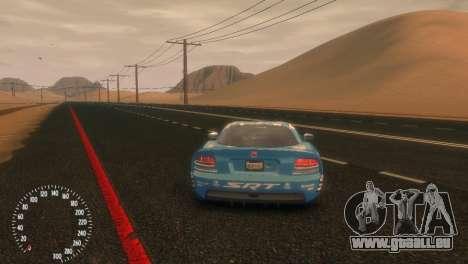 Dodge Viper SRT-10 Mopar Drift für GTA 4 hinten links Ansicht