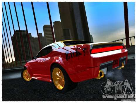 Dodge Challenger Calibri-Ace pour GTA San Andreas laissé vue