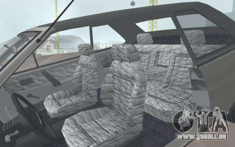 VAZ 2108 Natasha pour GTA San Andreas vue arrière