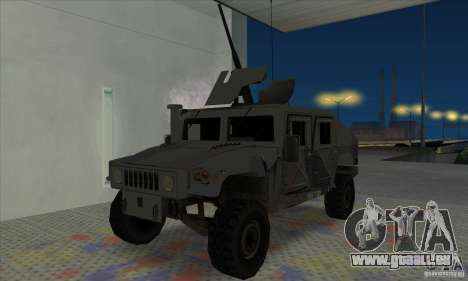 Humvee of Mexican Army pour GTA San Andreas