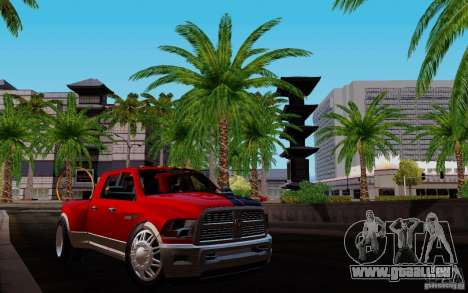 Dodge Ram 3500 Tuning pour GTA San Andreas