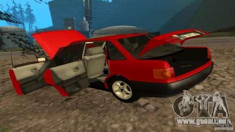 Audi 80 B3 v2.0 pour GTA San Andreas vue arrière