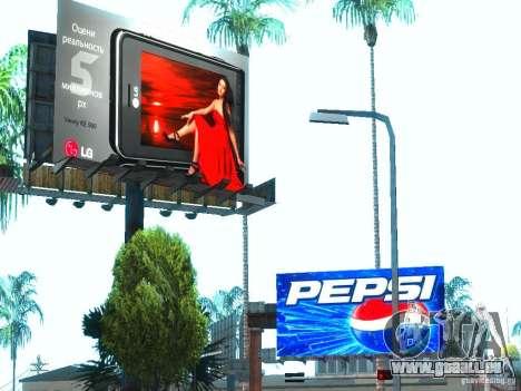 Nouvelles textures de Los Santos pour GTA San Andreas cinquième écran