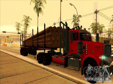 Anhänger, Western Star Trucks 4900 für GTA San Andreas linke Ansicht