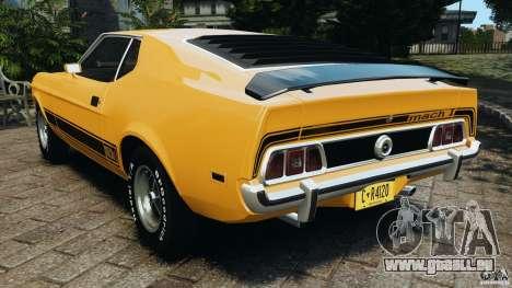 Ford Mustang Mach 1 1973 v2 pour GTA 4 Vue arrière de la gauche