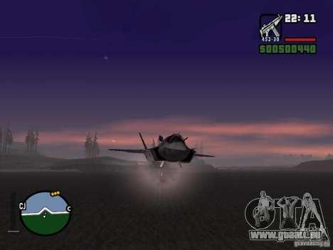 Rakete für GTA San Andreas dritten Screenshot