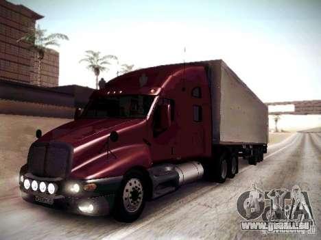 Kenworth T2000 V 2.7 pour GTA San Andreas laissé vue