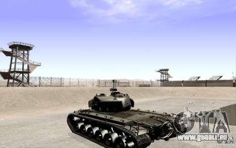 T26 E4 Super Pershing v1.1 pour GTA San Andreas laissé vue