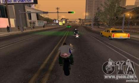 No wanted v1 für GTA San Andreas zweiten Screenshot