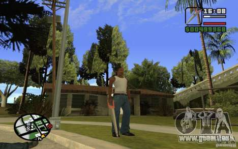 Säge für GTA San Andreas sechsten Screenshot