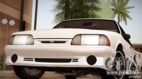 Ford Mustang SVT Cobra 1993 für GTA San Andreas Motor