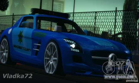 Mercedes-Benz SLS AMG Blue SCPD pour GTA San Andreas