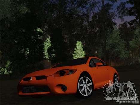 Mitsubishi Eclipse GT V6 pour GTA San Andreas vue de dessous