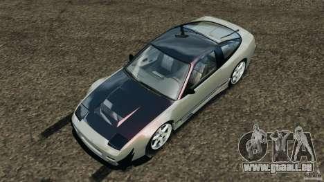 Nissan 240SX Kawabata Drift für GTA 4 Unteransicht