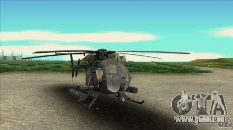 Der Hubschrauber von Residentübel für GTA San Andreas
