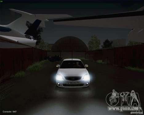 Lada 2170 pour GTA San Andreas vue de côté