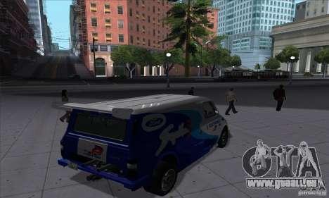 Ford Transit Supervan 3 2004 für GTA San Andreas rechten Ansicht