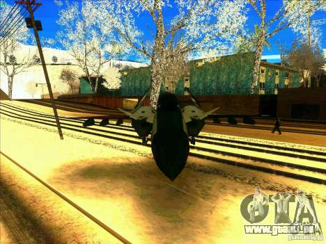 ADFX-02 Morgan pour GTA San Andreas vue intérieure