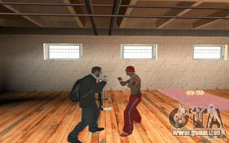 The combat system from GTA IV pour GTA San Andreas deuxième écran