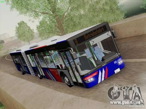 Design X3 pour GTA San Andreas vue intérieure