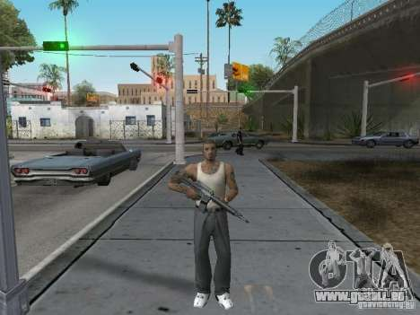 Changer les caractères pour GTA San Andreas deuxième écran