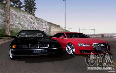 BMW 730i E38 pour GTA San Andreas vue de côté
