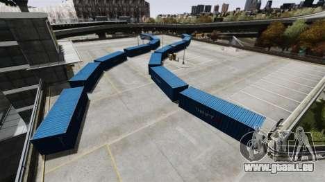 Dérive-piste à l'aéroport pour GTA 4 cinquième écran